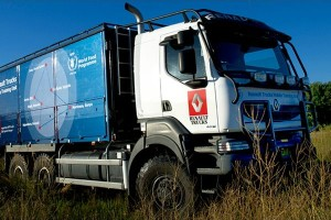 Renault Truck na misji w Afryce