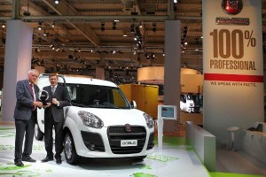 'International Van of the Year 2011' - Fiat Doblo Cargo