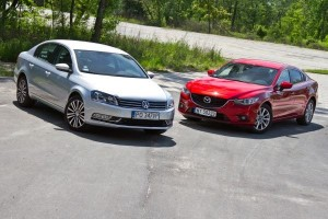 VW Passat vs. Mazda 6: VIDEO-TEST