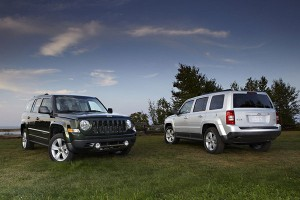 Jeep Patriot oraz Wrangler