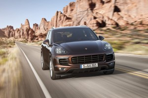 Porsche Cayenne face-lifting