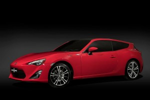 Toyota GT86 Shooting Brake Concept
