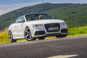 Audi RS5 Cabrio: Video-test