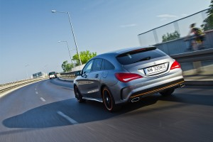 Testy mojeauto.pl: Mercedes CLA Shooting Brake