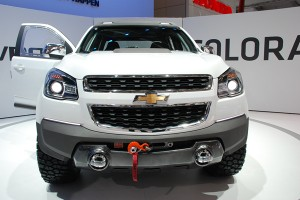 IAA Frankfurt 2011: Chevrolet Colorado Rally Concept