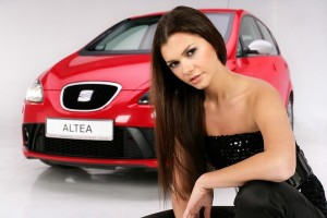 Seat Altea i Miss Polonia