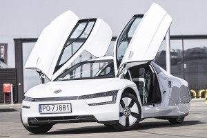 Volkswagen XL1: Test video
