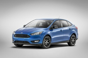 Ford Focus sedan facelifting