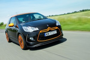 Citroen DS3 Racing: Sportowy but Loeba