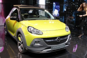 Genewa 2014: Opel Adam Rocks