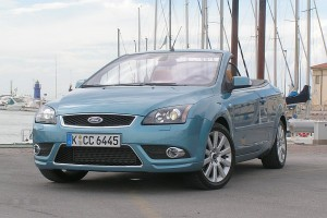 Ford Focus Coupe Cabriolet - pierwsza jazda