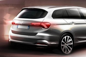 Fiat Tipo SW - nowy teaser