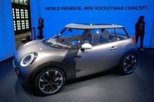 Genewa 2011: Mini Rocketman Concept