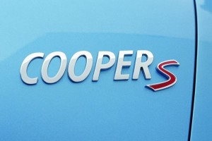 MINI Cooper S i helikopter