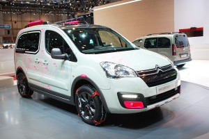 Geneva Motor Show 2015: Citroen Berlingo Mountain Vibe