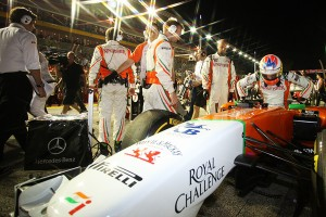 Force India w 2012 bez Adriana Sutila