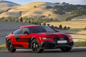 Audi RS7 piloted driving - Robby