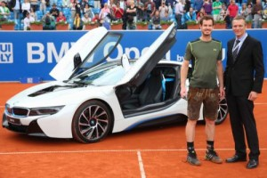 Andy Murray dostał BMW i8