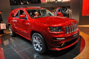 IAA Frankfurt 2011: Jeep Grand Cherokee SRT8