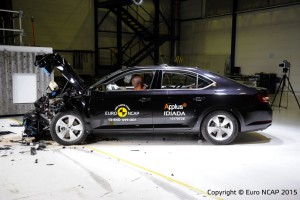 Testy Euro NCAP: Skoda Superb