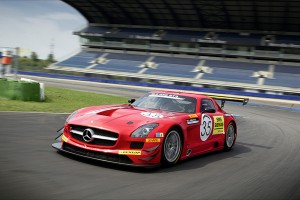 Mercedes SLS AMG GT3 Black Falcon