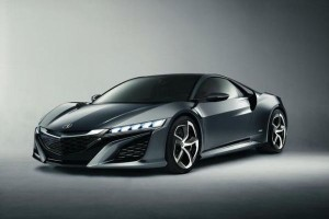 Acura NSX Concept Evolution