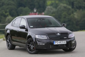 Skoda Octavia RS - test video