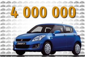 Suzuki Swift: 4 miliony w 10 lat