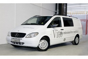 Nowy Mercedes-Benz Vito E-CELL