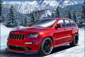 Jeep Grand Cherokee SRT8 od Hennessey Performance