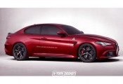 Alfa Romeo Giulia Coupe - premiera w Genewie?