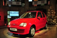 Fiat Seicento do muzeum