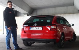 Długodystansowa Skoda Rapid Spaceback (test video)