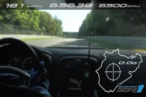 Chevrolet Corvette ZR1 wraca na tor Nurburgring