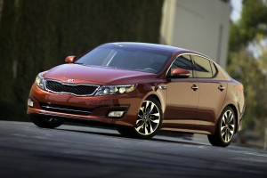 Kia Optima facelifting