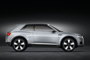 Audi crosslane coupe concept car