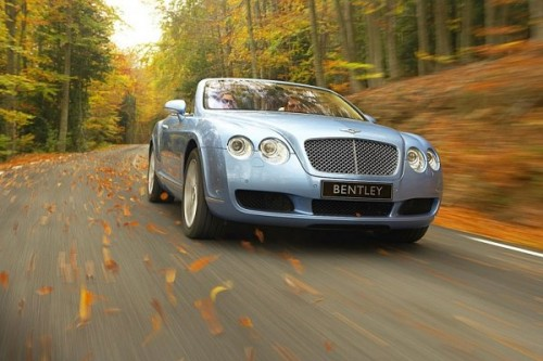 Bentley Continental GTC: Cabrio w serii