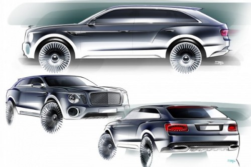 Bentley pracuje nad SUV-em coupe