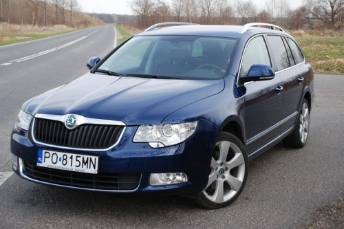 Skoda Superb Combi: VIDEO-TEST