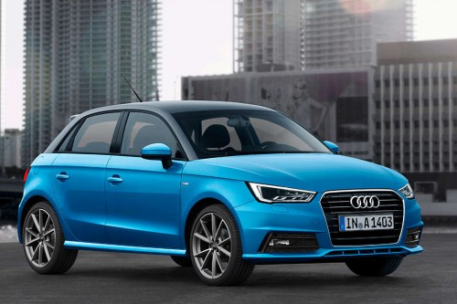 Audi A1 po faceliftingu