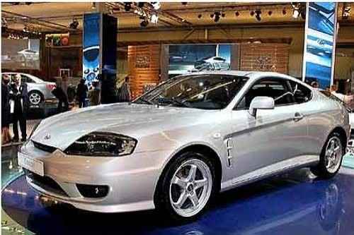 Hyundai Coupe po faceliftingu