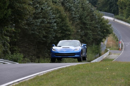 Corvette Stingray rozrabia na Nürburgringu