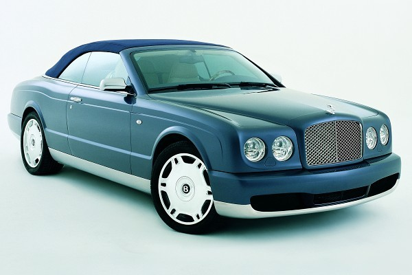 Bentley Arnage Drophead Coupe i Bentley Continental GTC  - motogazeta mojeauto.pl