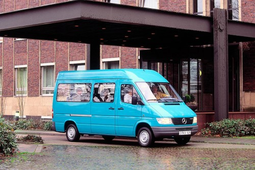 Mercedes Sprinter ma 20 lat
