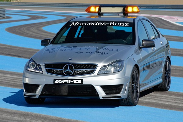 Mercedes C63 AMG DTM Safety Car  - motogazeta mojeauto.pl