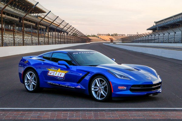 Chevrolet Corvette Stingray Pace Car  - motogazeta mojeauto.pl