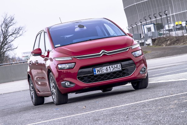Citroen C4 Picasso - test video  - motogazeta mojeauto.pl