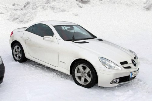 Mercedes SLK po liftingu