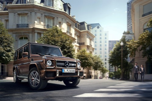 Mercedes Klasy G: legenda po liftingu