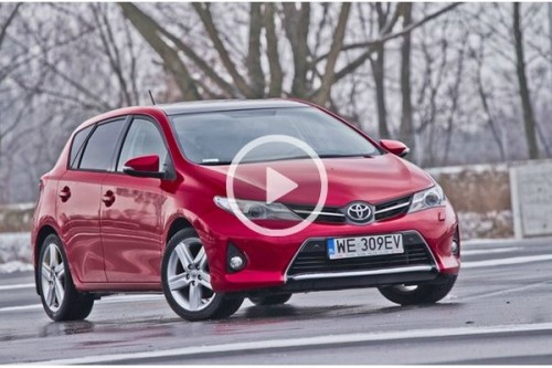 Toyota Auris - TEST WIDEO